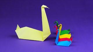 як зробити саморобку з паперу пташку