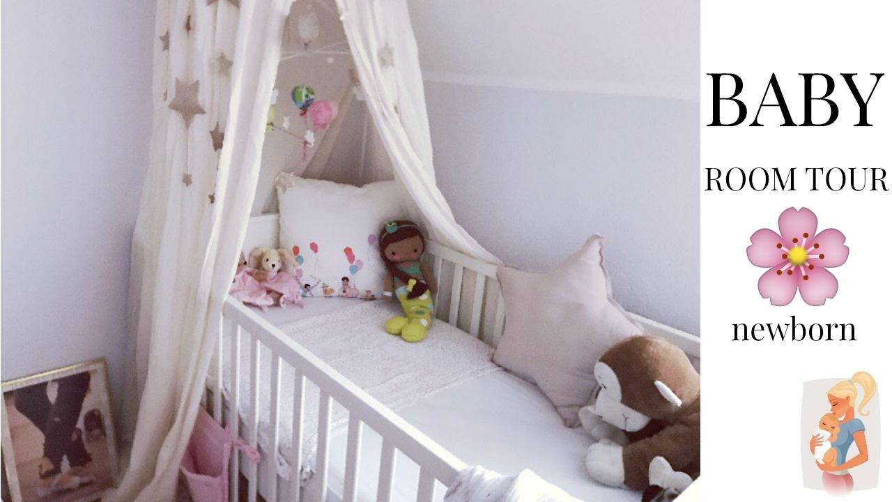 babyzimmer roomtour m dchen 1 monat youtube. Black Bedroom Furniture Sets. Home Design Ideas
