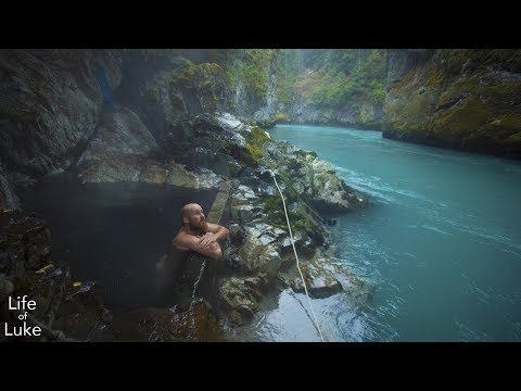 Pitt River Hot Springs By Canoe & Bike