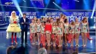 Amira Willighagen - Results Semi-Finals Holland's Got Talent - Part 2 - 21 December 2013
