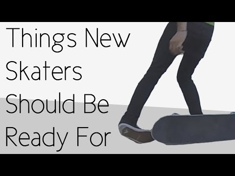 Thumbnail: Things That New Skateboarders Should Be Ready For