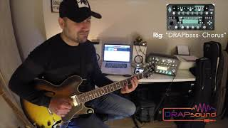 "Commercial Rig: ""DRAPbass-Chorus"" for Kemper Profiler"