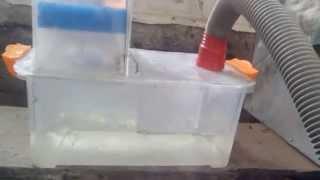 5 этап разработки АКВАФИЛЬТРА(5 этап разработки пылесоса с водяным фильтром. Материалы: 1) Пластиковый ящик 2) Из оргстекла был склеена..., 2014-11-07T20:40:47.000Z)