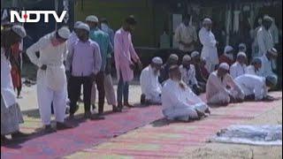 Namaz Disrupted With 'Jai Shri Ram' Chants At Designated Gurgaon Spot