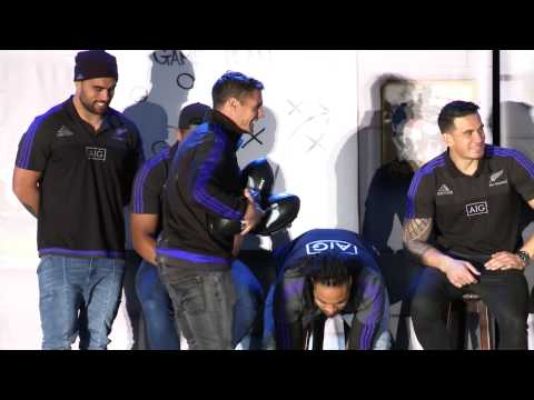 All Blacks Rugby Experience Auckland 2015