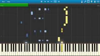 Repeat youtube video Naruto Ending 1: Wind - Piano Tutorial [2 Hands]