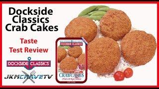 Dockside Classics Crab Cakes Taste Test Review | JKMCraveTV
