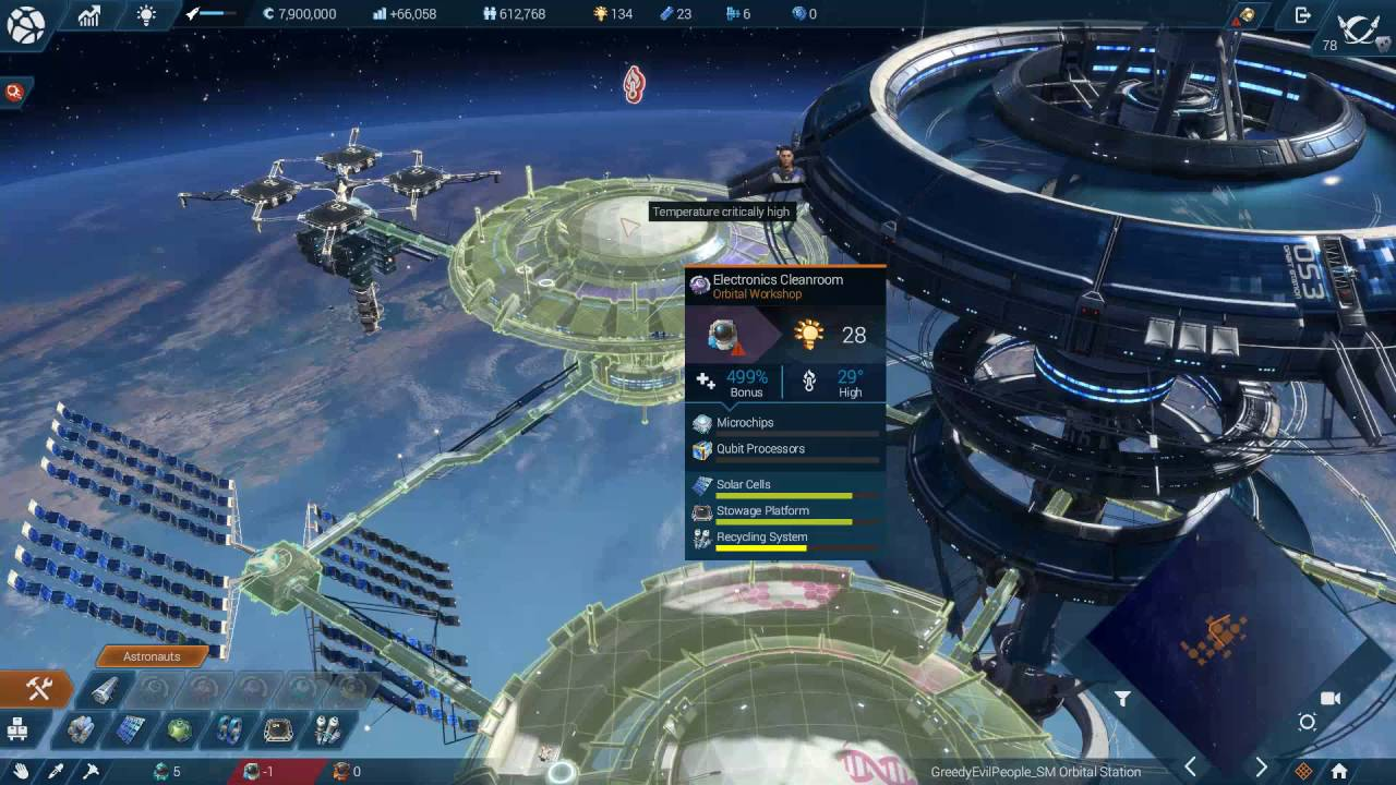 Anno 2205 Tundra Orbit #2 - Expanding space station - YouTube