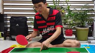 TABLE TENNIS MASTER GUIDE 박창규탁구레슨 [롱핌플과 숏핌플의 차이점]