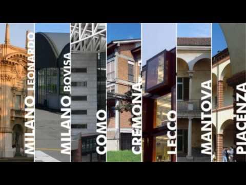 Politecnico di milano youtube for Architettura politecnico di milano