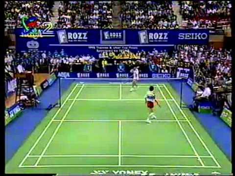 Uber Cup Final 1998 - Gong Zhichao Vs Mia Audina