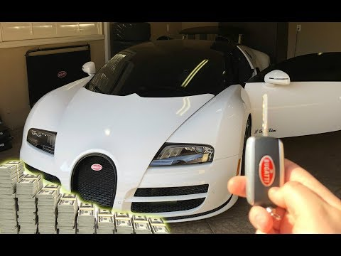 BUYING A BUGATTI IN CASH