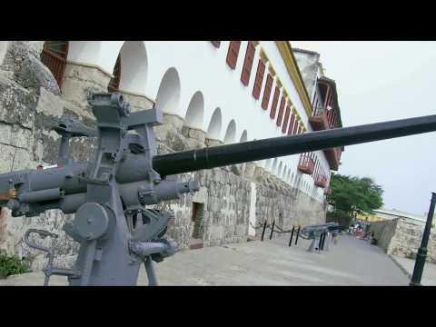 Картахена, Колумбия. Старый город и крепость Сан-Фелипе-де-Барахас / Cartagena, Colombia. Old City