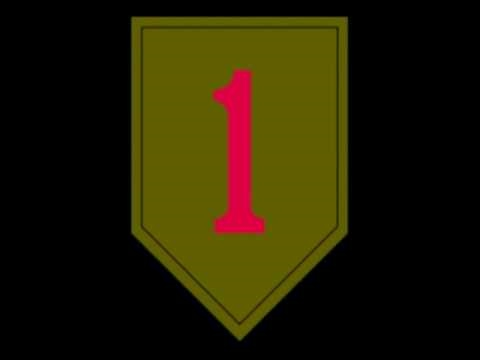 US Army 1st Infantry Division insignia