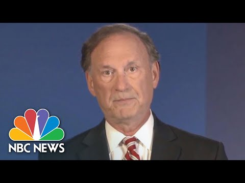 Justice Alito Says Opposing Same-Sex Marriage Is 'Considered Bigotry' | NBC News NOW