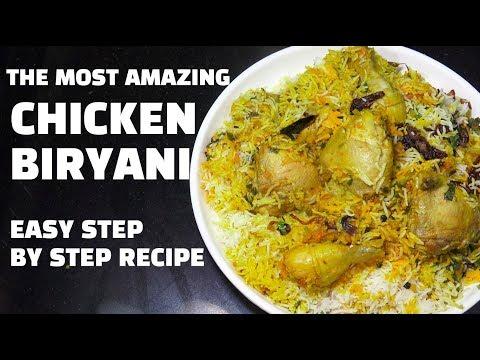 Chicken Biryani - How to make Chicken Biryani - Best Biryani Recipe