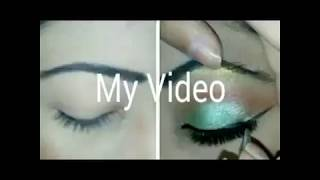 How to do eye makeup step by step