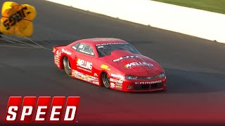 Erica Enders has heated talk with Tanner Gray at Topeka qualifying | 2018 NHRA DRAG RACING