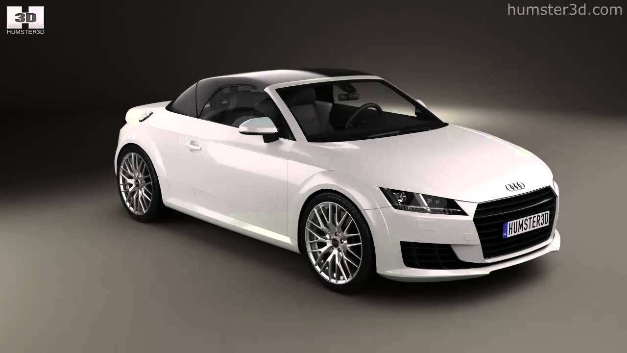 audi tt 8s roadster 2014 by 3d model store. Black Bedroom Furniture Sets. Home Design Ideas