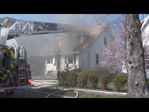 VIDEO: Bogota Firefighter Injured In House Blaze OK