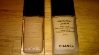 Review: Chanel Perfection Lumiere vs Vitalumiere Thumbnail