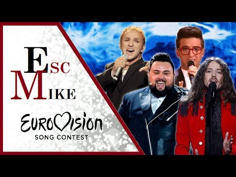 Eurovision Best Male Voices - My Top 30 [2000 - 2017]