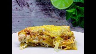 Лазанья с курицей и грибами. Простой и оооочень вкусный рецепт.