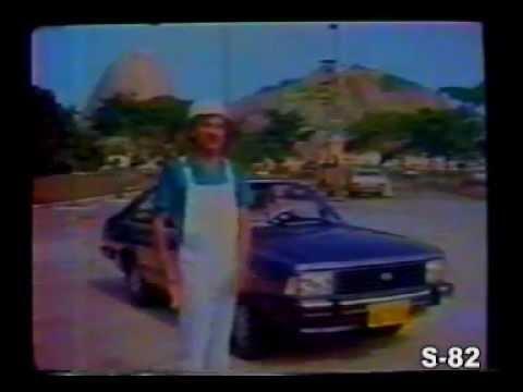 PROPAGANDA COMERCIAL FORD CORCEL 2 CORCEL II BELINA LDO L 1983 BRASIL BRAZIL