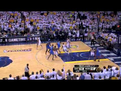 Grizzlies vs. Thunder - Game 4 Western Conference Semi-Finals 2011 NBA Playoffs (09-05-2011)
