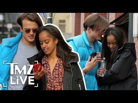 Malia Obama's New Boyfriend! | TMZ Live