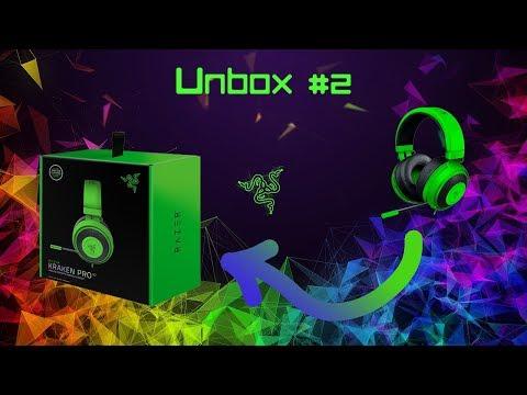 Unbox #2 - Razer Kraken Pro V2 Green Oval + Teste Do Headset