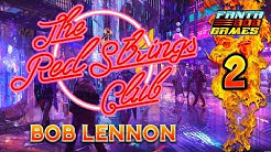 """UN ÊTRE """"AUGMENTÉ"""" !!!-The Red Strings Club- Ep.2 avec Bob Lennon"""