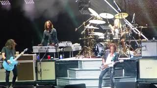 Draw the Line Foo Fighters w Joe Perry Cal