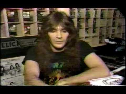 Rockn' Roll Heaven segment  Channel 4 News - Clark, NJ - Metal - Bobby Gustafson