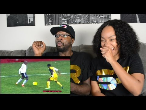 🇿🇦 - South African Football CRAZY SKILLS - Football Entertainers!!! REACTION