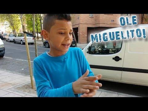 """Miguelito - """"Tu con tu mare yo con la mia"""" - FLAMENCO LACHÓ"""