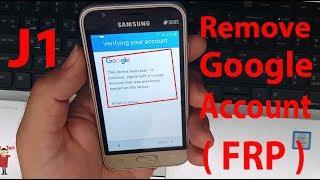 Bypass Google Account on Galaxy J1 mini Prime (SM-J106H) FRP Without Box  ᴴᴰ