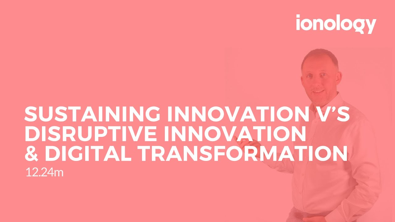what is the difference between sustaining technology and disruptive technology Information and communication technology the comparatively new distinction between disruptive and sustaining the internet combines disruptive technologies.