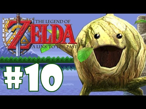 ZELDA LINK TO THE PAST #10 - ESTAMOS ANDANDO PELA FLORESTA