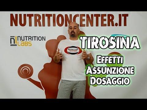 Integratori di Tirosina - Brucia Grassi - Effetto e Dosaggio - NutritionCenter.it