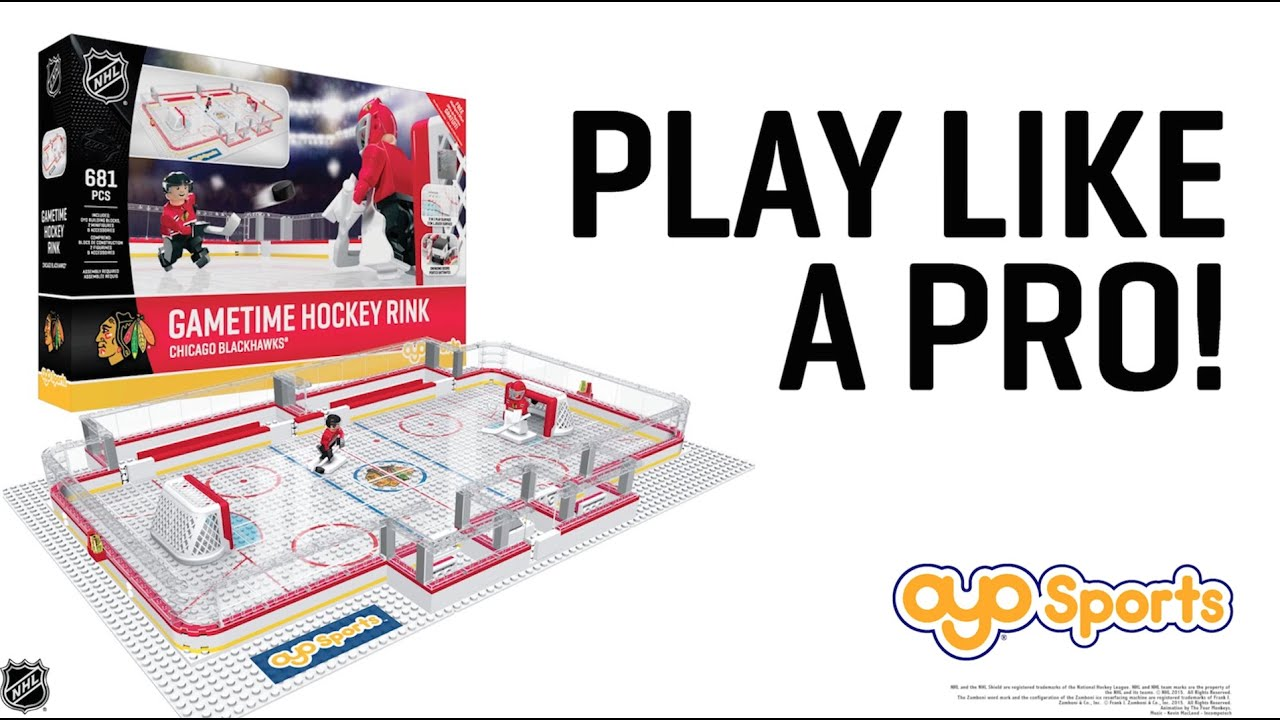 play like a pro oyo sports gametime rink sets youtube