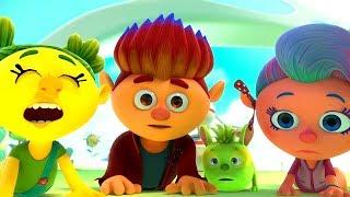 Монсики - Слива-стыдлива - Новые мультики для детей | Чувства и эмоции