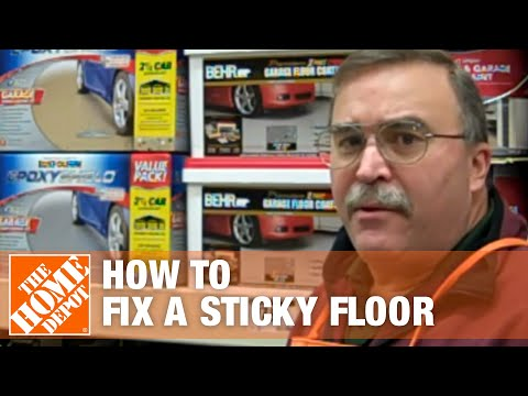 How To Fix A Sticky Floor After Applying Two Part Epoxy   The Home Depot