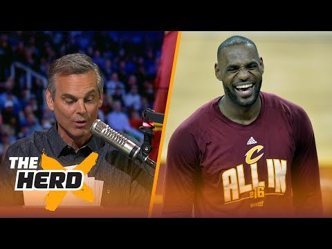 LeBron James to the Lakers would completely disrupt the entire NBA | THE HERD