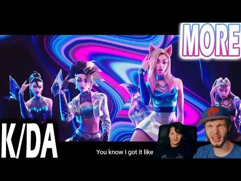 K/DA - MORE (REACTION   LYRIC BREAKDOWN!)