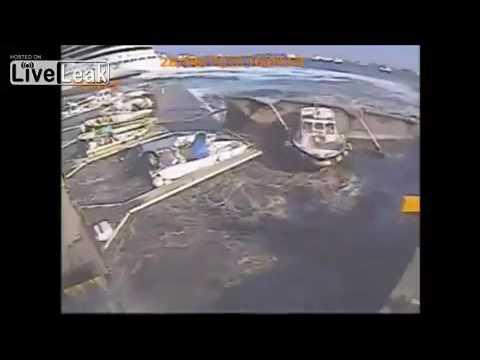 Carnival Cruise Ship's Prop Wash Destroys Italian Marina in Messina, Sicily (Italy)