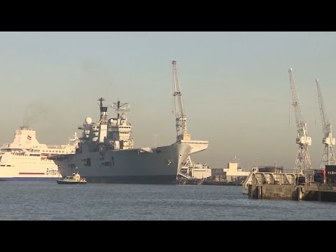 HMS Illustrious Heads To The Scrapyard   Forces TV
