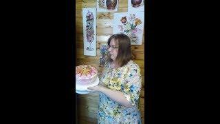VLOG День рождения / Много салатов / Торт Alena'sDays