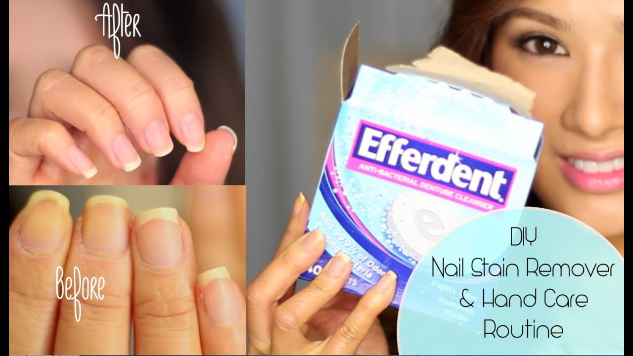 How to Get Rid of Yellow Nails & Dry Hands ( CLOSED Giveaway L ...