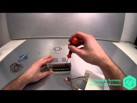 [3DMS][Scalar] Power supply assembly instructions EN+FR